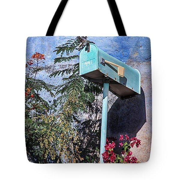 Barrio Viejo In Bloom Tote Bag