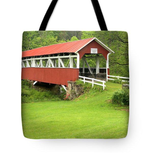Barronvale Covered Bridge Tote Bag