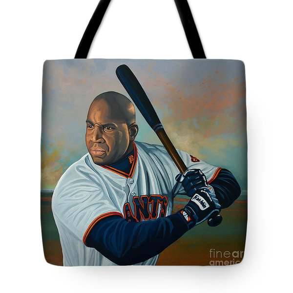 Barry Bonds Tote Bag