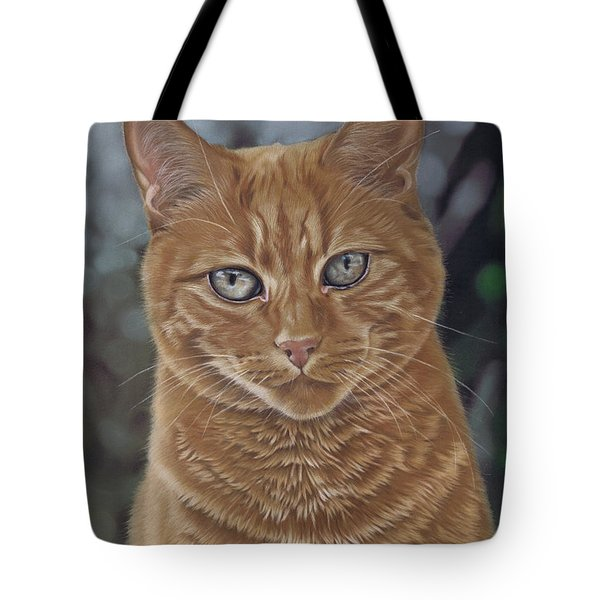 Barry The Cat Tote Bag