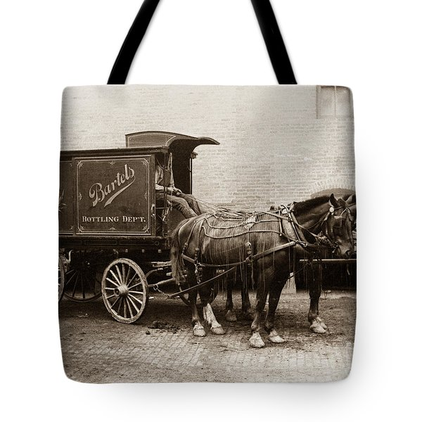 Bartel's Brewery Edwardsville Pennsylvania... Tote Bag
