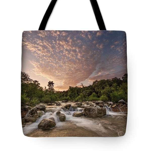 Barton Creek Greenbelt At Sunset Tote Bag