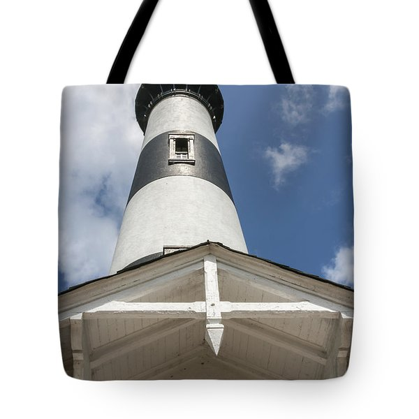 Base Of Bodie Island Lighthouse Tote Bag