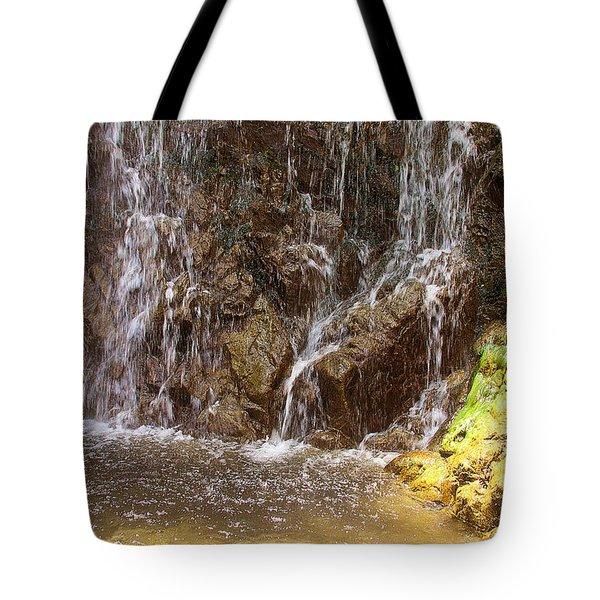 Base Of Bonita Falls Tote Bag