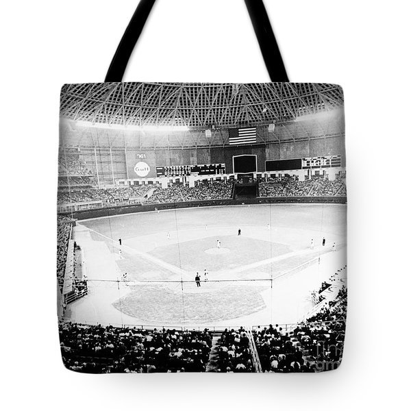 Baseball: Astrodome, 1965 Tote Bag