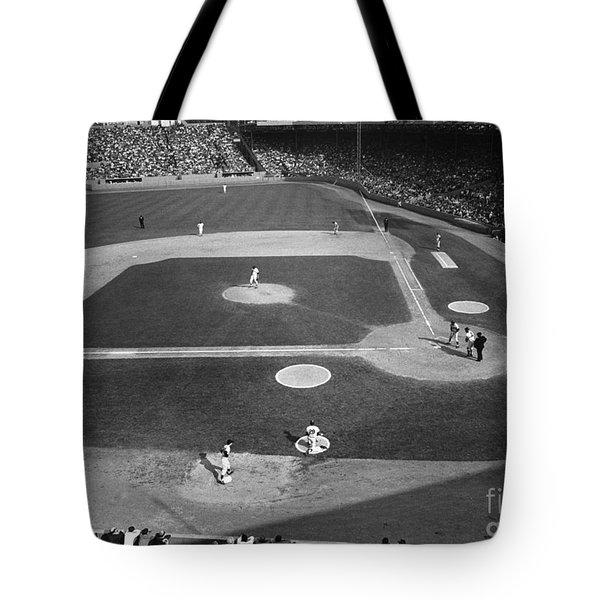 Baseball Game, 1967 Tote Bag