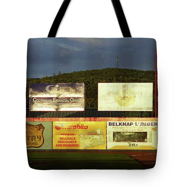 Baseball Sunset 2005 Tote Bag by Frank Romeo