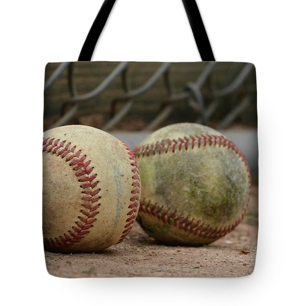 Baseballs Tote Bag