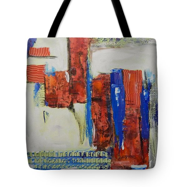 Based On True Events Tote Bag by Sue Furrow