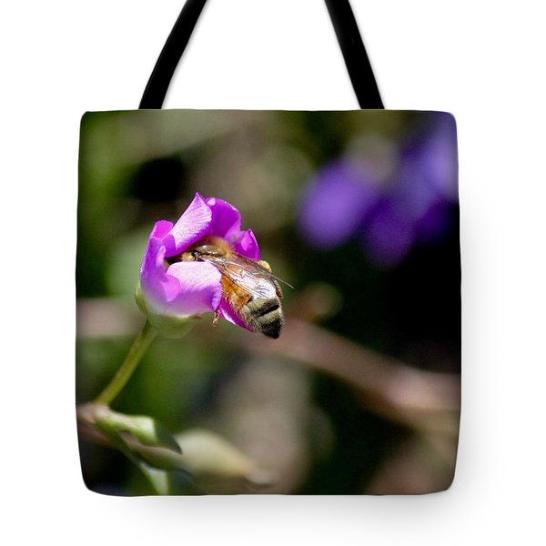 Bashful Bee  Tote Bag