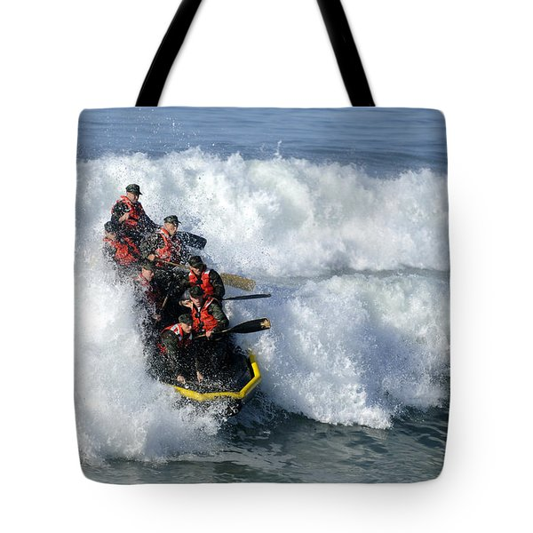 Basic Underwater Demolitionseal Buds Tote Bag by Stocktrek Images