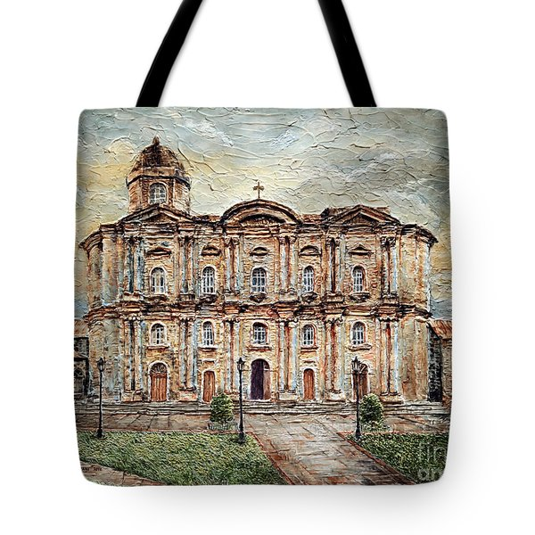 Basilica De San Martin De Tours Tote Bag