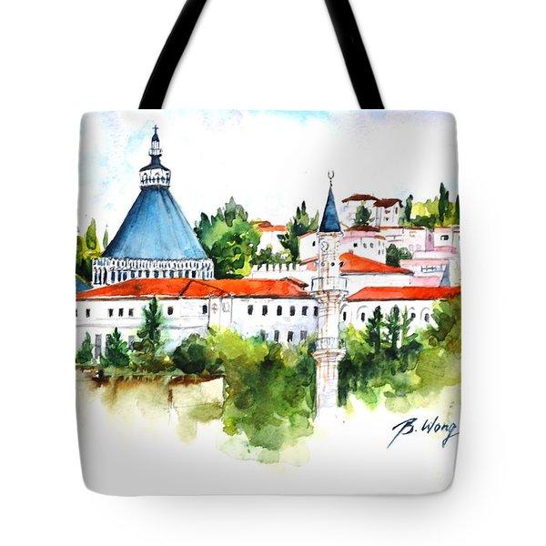 Basilica Of Annunciation, Nazareth Tote Bag