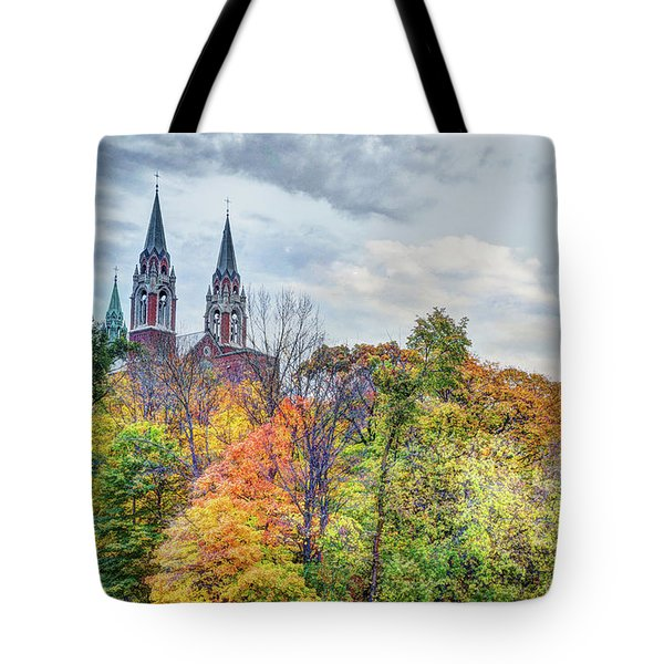 Basilica Of Holy Hill National Shrine Of Mary Tote Bag