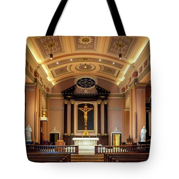 Basilica Of Saint Louis, King Of France Tote Bag
