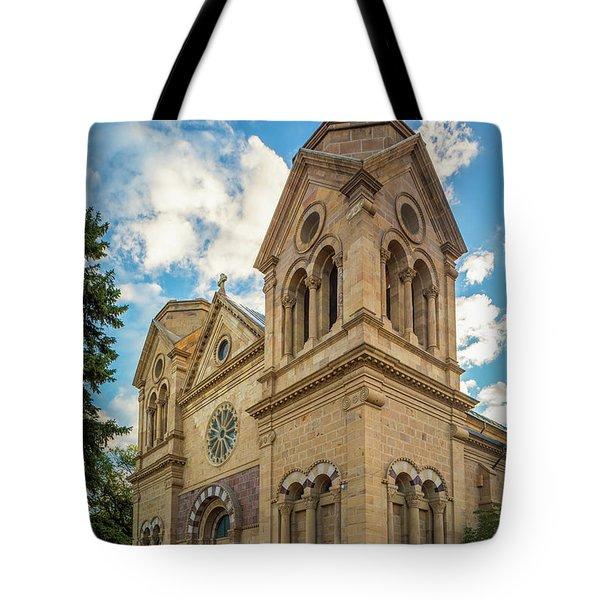 Basilica Of St. Francis Of Assisi Tote Bag
