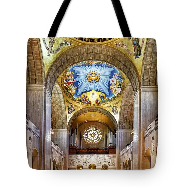 Basilica Of The National Shrine Of The Immaculate Conception - Interior Tote Bag