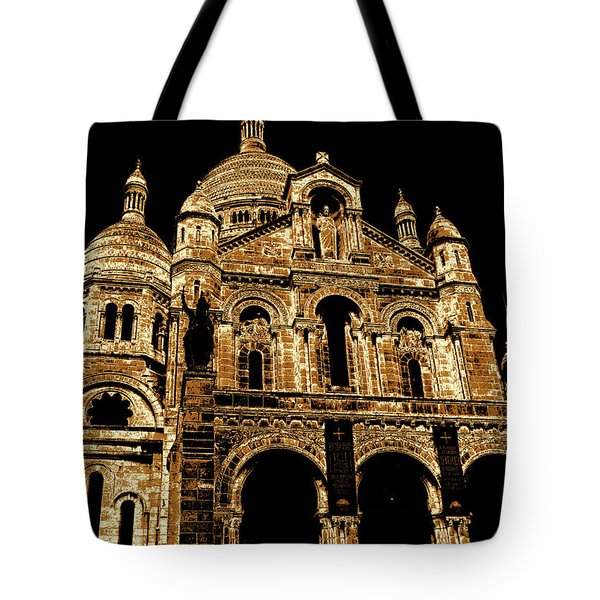 Basilica Of The Sacred Heart Tote Bag