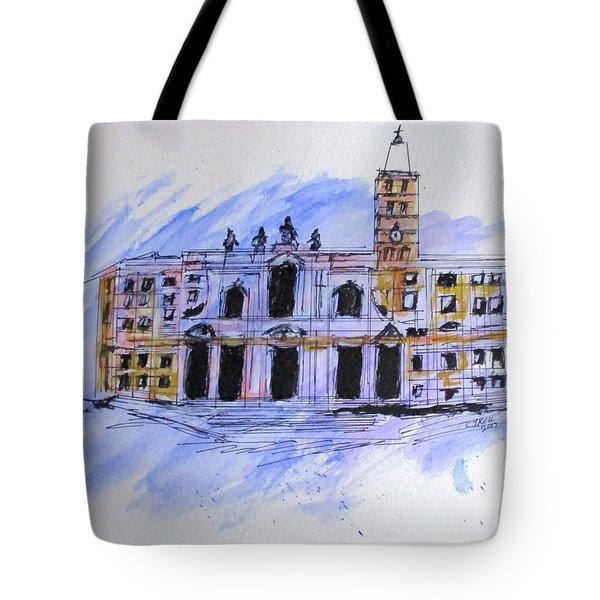 Basilica St Mary Major Tote Bag