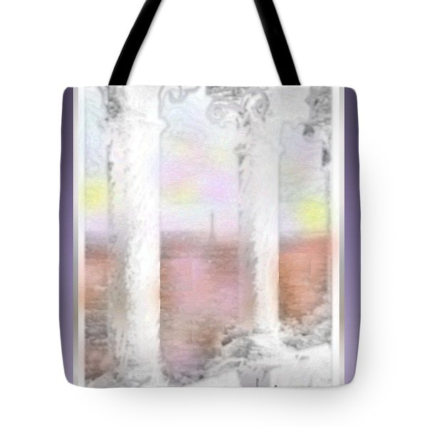 Sacre - Coeur Sunset Tote Bag