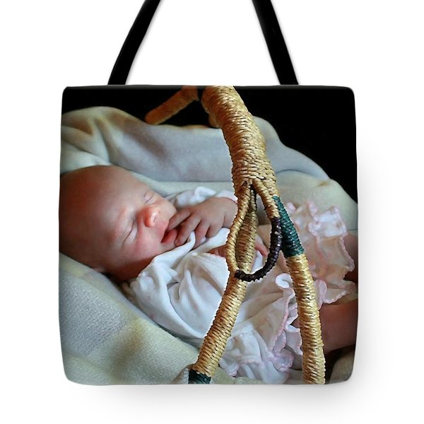 Basket Baby Tote Bag by Ellen O'Reilly