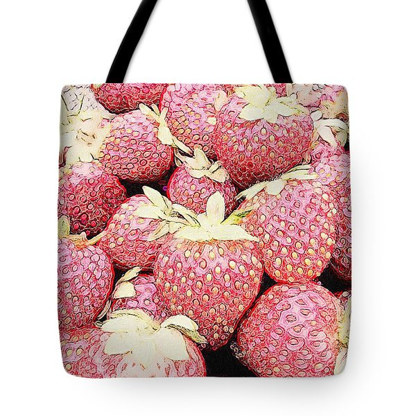 Basket Of Berries Tote Bag by Michele Meehl