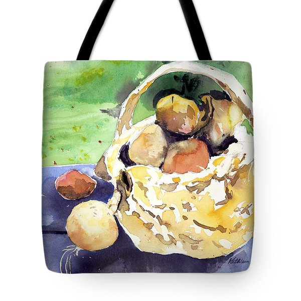 Basket Of Fruit Tote Bag