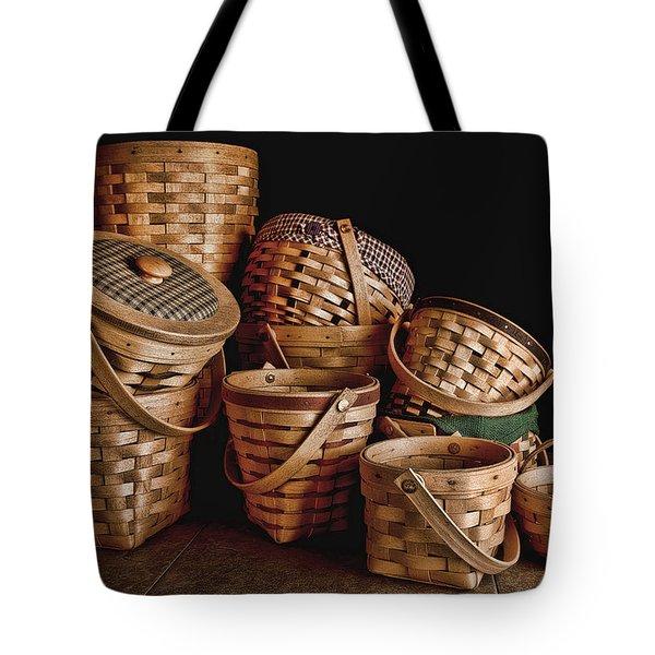Basket Still Life 01 Tote Bag