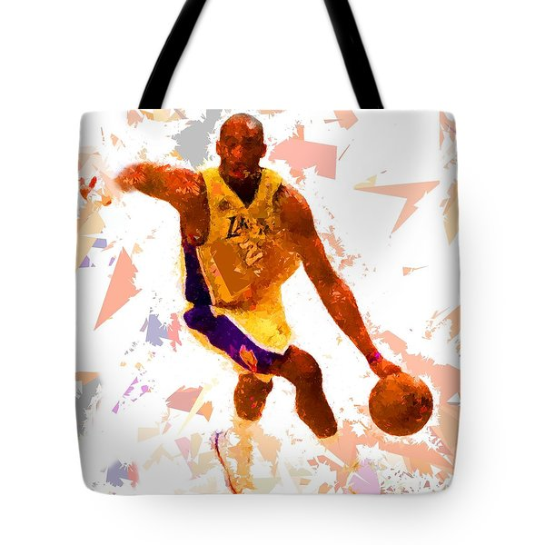 Tote Bag featuring the painting Basketball 24 A by Movie Poster Prints