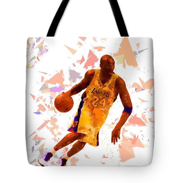 Tote Bag featuring the painting Basketball 24 by Movie Poster Prints