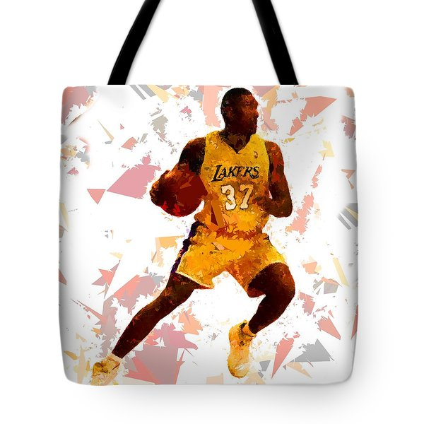Tote Bag featuring the painting Basketball 37 by Movie Poster Prints