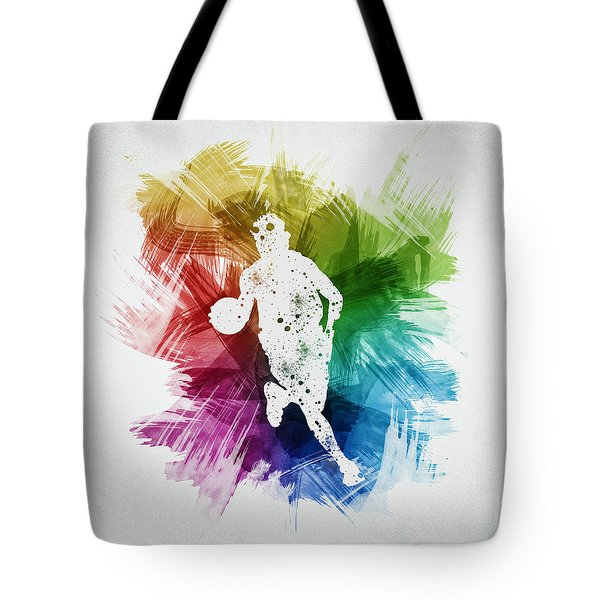 Basketball Player Art 02 Tote Bag