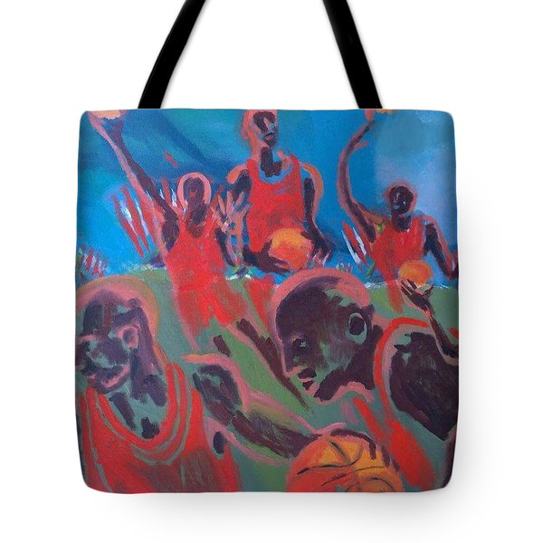 Basketball Soul Tote Bag