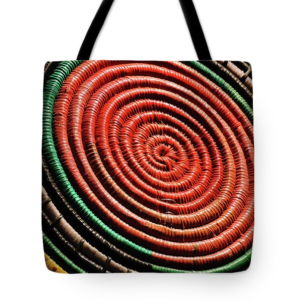Basketry Color Tote Bag