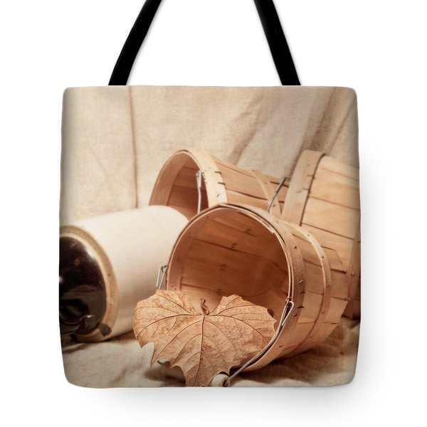 Baskets With Crock Tote Bag