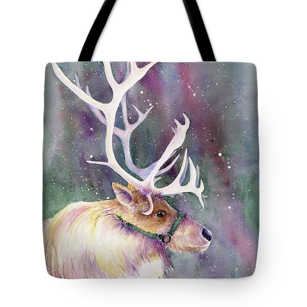Basking In The Lights Tote Bag