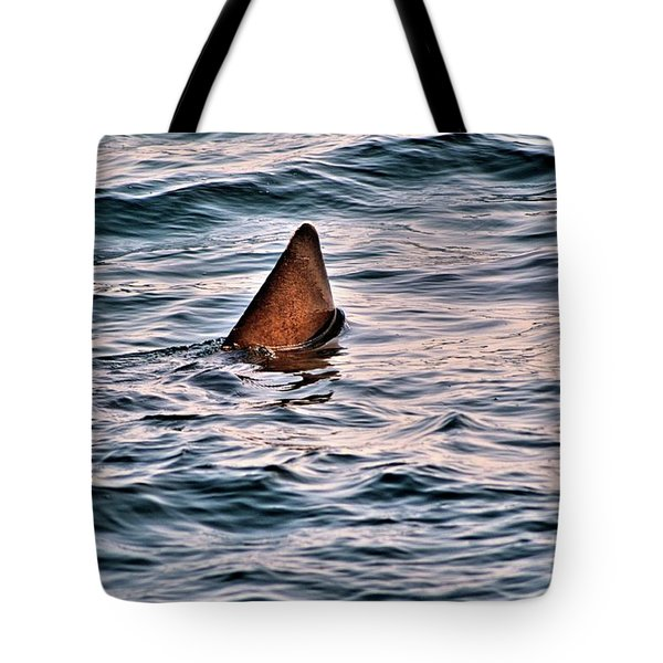 Basking Shark In July Tote Bag