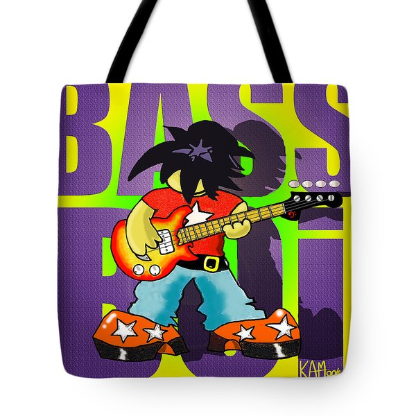 Bass Boi Tote Bag