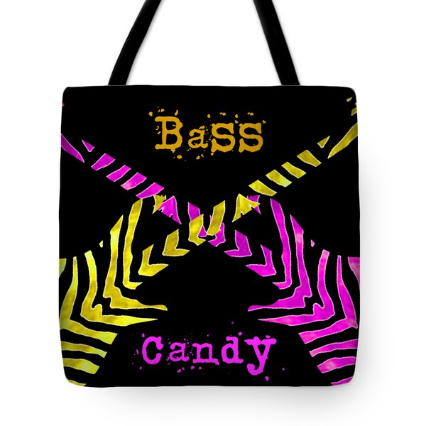 Bass Candy Tote Bag