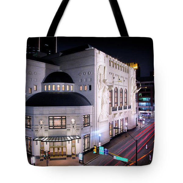 Bass Hall Resplendence Tote Bag