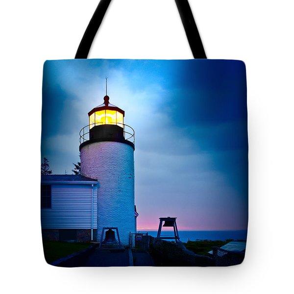 Bass Harbor Head Lighthouse 3085 Tote Bag