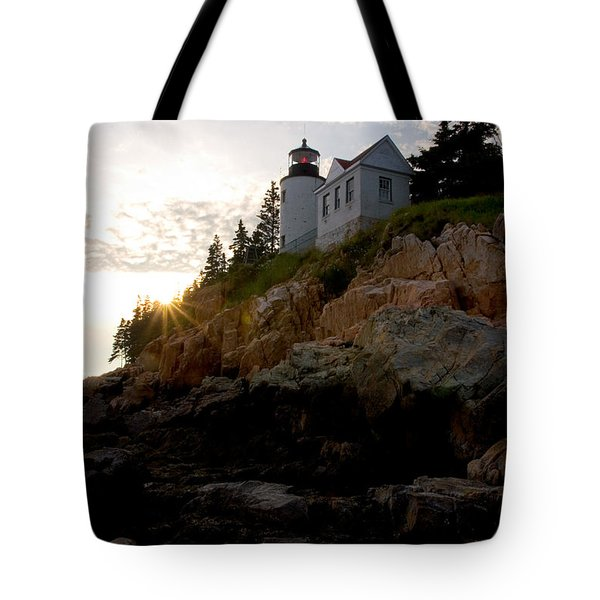 Bass Harbor Lighthouse 1 Tote Bag