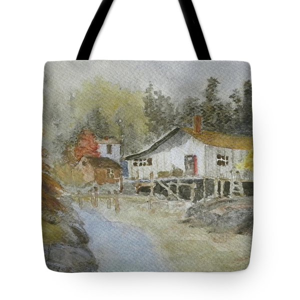 Bass Harbor Retreat Tote Bag