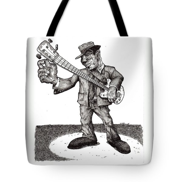 Bass Tote Bag by Tobey Anderson