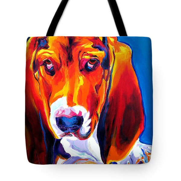Basset - Ears Tote Bag