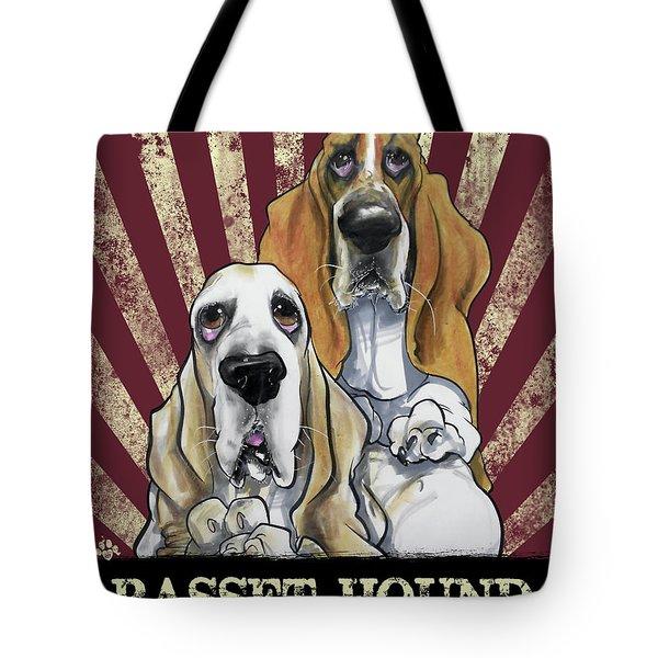 Basset Hound Revolution Tote Bag