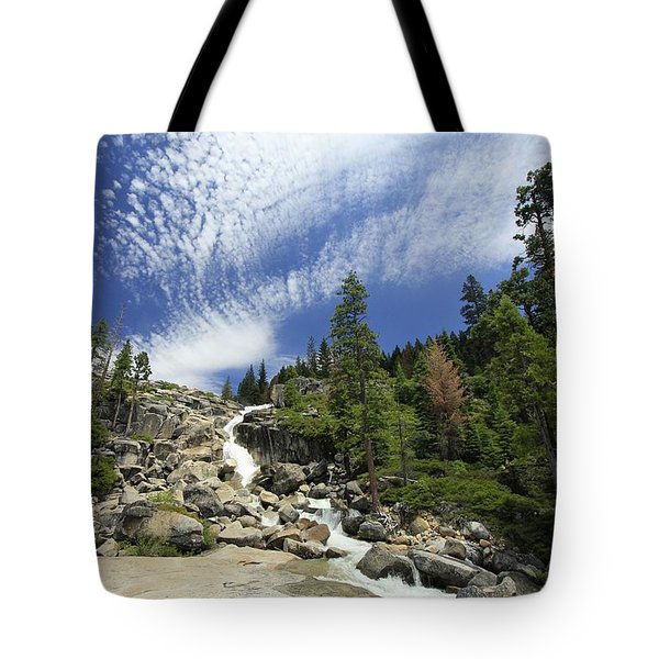 Tote Bag featuring the photograph Bassi Flow by Sean Sarsfield