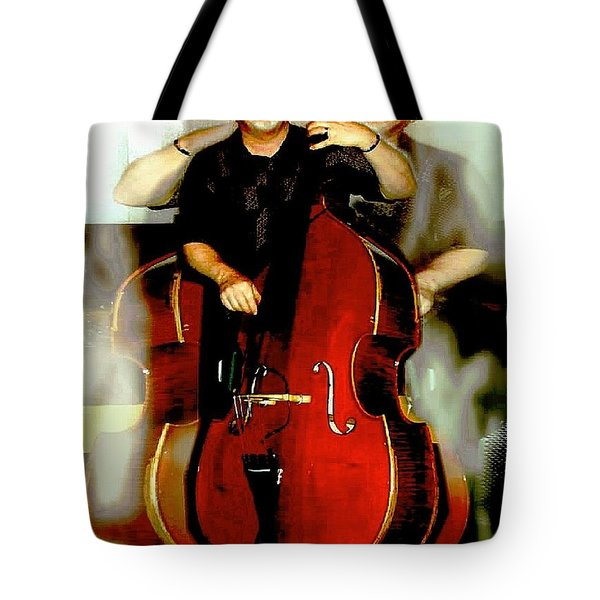 Bassman Tote Bag by Sadie Reneau