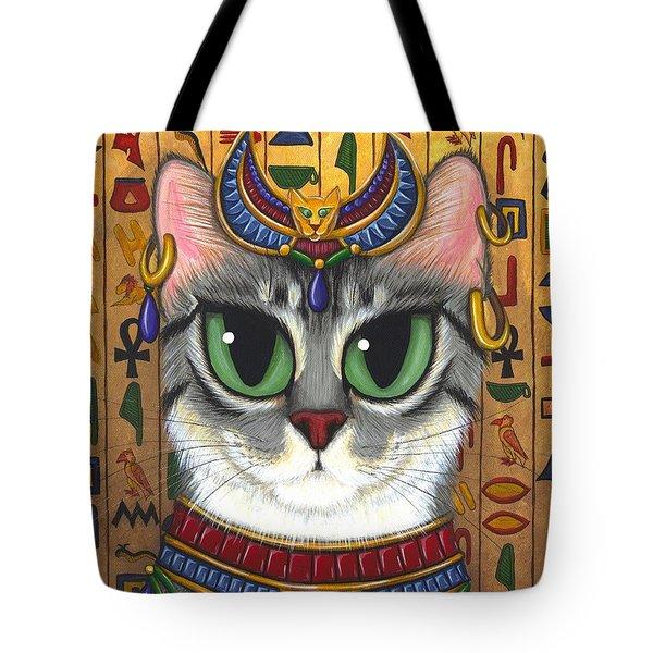 Bast Goddess - Egyptian Bastet Tote Bag