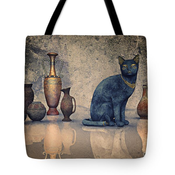 Bastet And Pottery Tote Bag